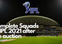 Complete Squads of IPL 2021 after the auction - IPL 2021