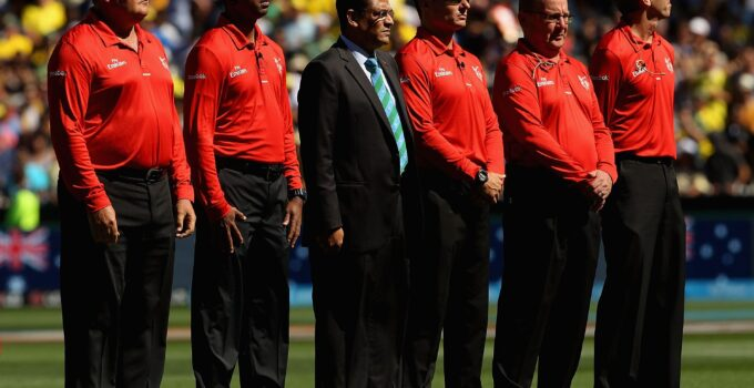 ICC T20 World Cup Umpires & Referees List 2021 -ICC T20 World Cup