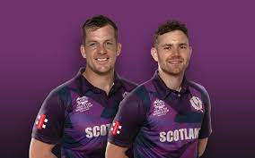 Scotland's official jersey for the T20 2021 World Cup
